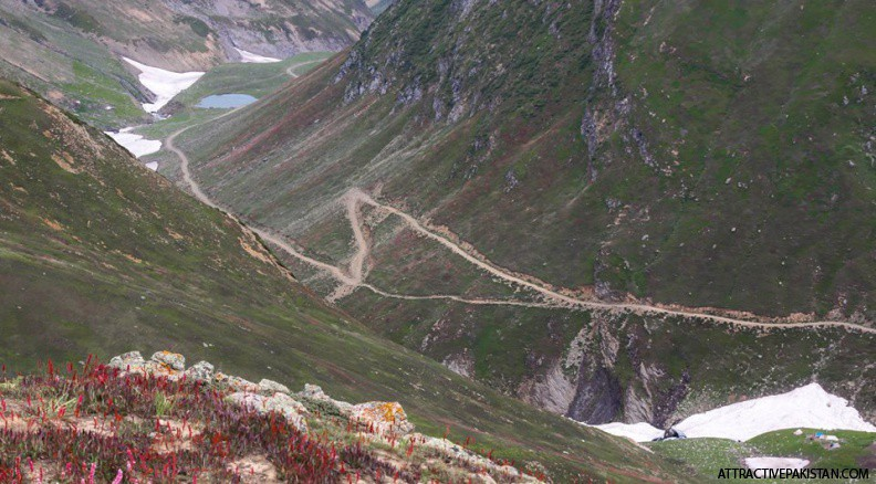 towards Noori Top (August 2014)