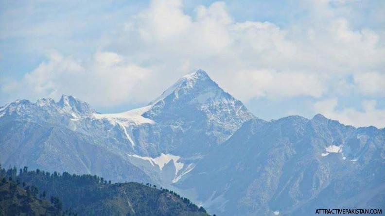 SiranII Peak (October 2014) -- Photo was taken from Shoogran Road in Oct,2014.