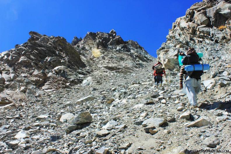 Kachi Khani Pass from Swat (September 2013) --