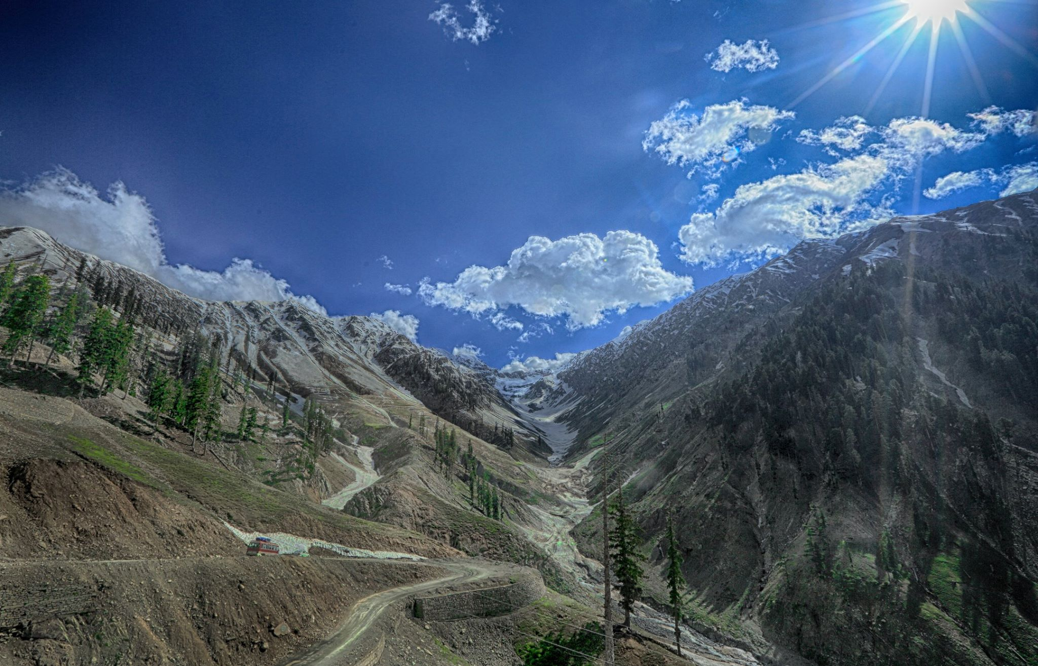 Lowari Top / Pass & Lowari Tunnel - Beautiful Top Pass in Pakistan